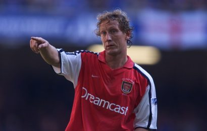 How old is Ray Parlour, who is the ex-Arsenal star's wife and was his nickname the 'Romford Pele'?