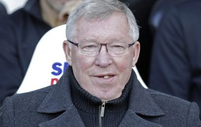 Sir Alex Ferguson's final piece of chewing gum as Man Utd boss sold for £390k