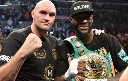 Fury confirms sensational rematch with 'big bum dosser' Wilder WILL happen