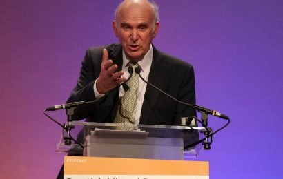 Vince Cable stepping down as Liberal Democrat leader in May because Brexit 'may never happen'