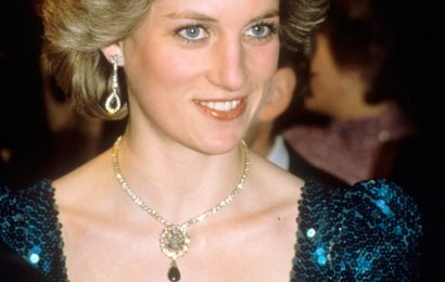 Diana fans furious after Camilla wears late princess' famous diamond and emerald jewellery