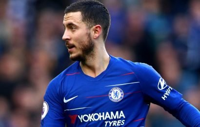 Chelsea to demand £100m fee for Hazard from Real Madrid with transfer ban meaning Sarri can't replace winger