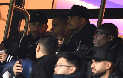 Neymar 'facing three-match Champions League ban' after X-rated rant at ref following dramatic Man Utd defeat