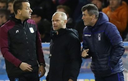 John Terry and Roy Keane in touchline spat during Aston Villa win at Nottingham Forest