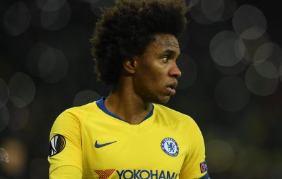 Willian still waiting for Chelsea to tell him they want him to stay amid Man Utd and Barcelona transfer speculation