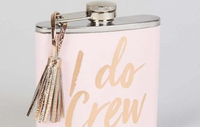 Matalan has released a new bridal collection, including hip flasks, make-up bags and hen party games kits from £3
