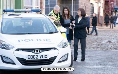 Coronation Street spoilers: Carla Connor is arrested by police over factory collapse