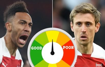 Arsenal player ratings: Aubameyang back to his brilliant best, Maitland-Niles is the real deal and Monreal gives a defensive masterclass