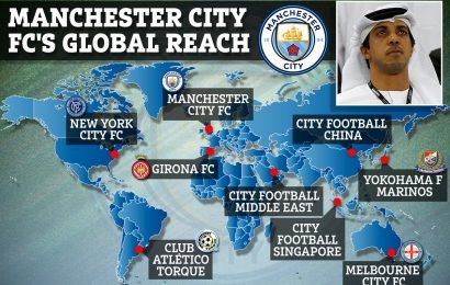 Man City set to buy their eighth club as they ramp up plans for global football domination