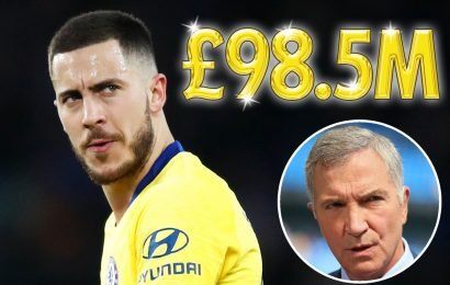 Chelsea set Hazard price tag at £98.5m but Souness warns Blues will struggle whether he joins Real Madrid or not