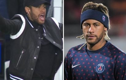 Neymar faces ban for foul-mouthed rant after Man Utd loss as Uefa open investigation into PSG ace