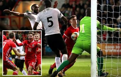 Star man Woodburn nods stoppage-time winner as Giggs' gamble of resting Bale just pays off