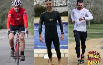 Southampton legend Francis Benali plans to complete seven Ironman-distance triathlons in just seven days for charity