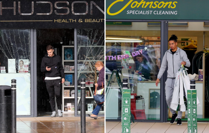 Smalling picks up the dry cleaning and Dalot visits a beauty salon – Man United stars enjoy afternoon off before crunch PSG clash