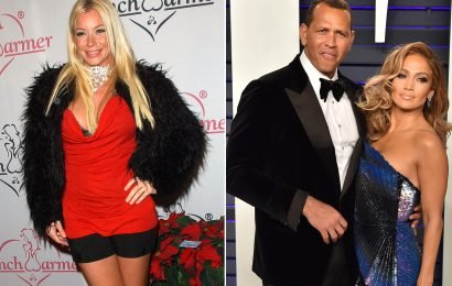 Ex-Playmate claims A-Rod was sexting her weeks before proposing to J.Lo