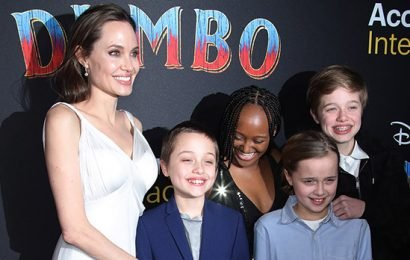 Angelina Jolie Attends 'Dumbo' Premiere With Her 4 Youngest Kids — Pics