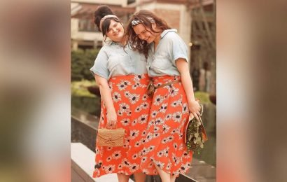 Sisters Celebrate Being Able to Wear the Same Clothes in Different Sizes With a Body Positive Photo Shoot
