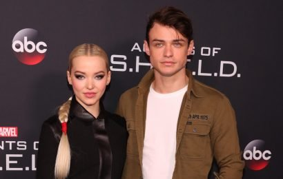 Dove Cameron & Thomas Doherty Take Adorable Videos of Each Other – Watch!