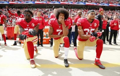 Florida Teacher Cries as She's Forced to Remove Colin Kaepernick Poster from Classroom