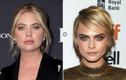 This Photo Of Cara Delevingne & Ashley Benson Cuddling Could Mean They're IG Official