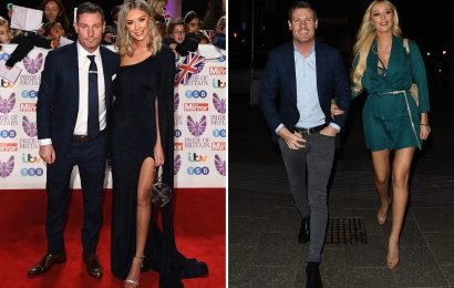 EastEnders star Dean Gaffney, 41, dumped by his model girlfriend Rebekah Rose-Ward, 25, after three years of dating