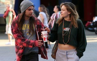 Paris Jackson spotted out after alleged suicide attempt