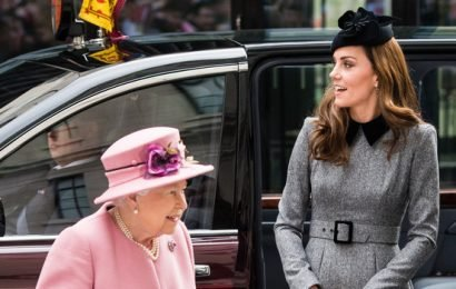 Kate Middleton and Queen Elizabeth Mark Their First Joint Appearance in Seven Years