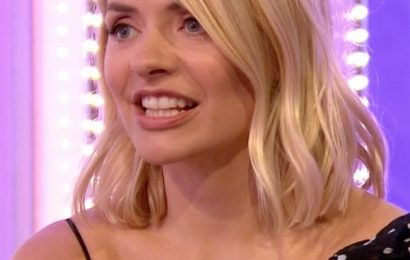 Holly Willoughby fans joke she's 'drunk' after The One Show appearance