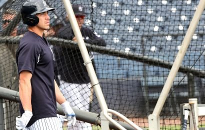 Jacoby Ellsbury a ghostly figure in Yankees world, here but not here