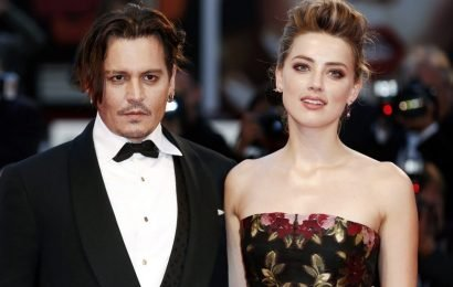 Johnny Depp Photographed With Black Eye After Alleged Punch From Amber Heard!