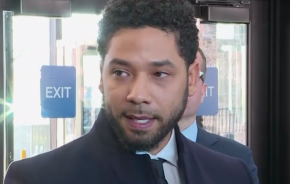 Jussie Smollett Gives Emotional Statement After Charges Are Dropped