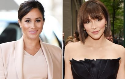 Katharine McPhee Reunited with Theater Pal Meghan Markle – and Got an Update on the Royal Baby!