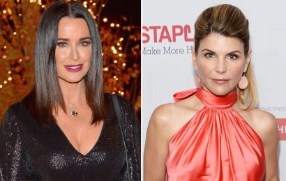 Kyle Richards, who is friends with Lori Loughlin, 'never knew' college scamming existed