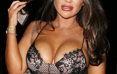 Lauren Goodger struggles to cover assets in racy bikini on holiday in Dubai