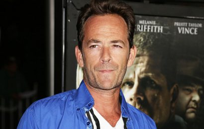 Luke Perry's Son Jack, 21, Puts Career On Hold & Drops Out Of Wrestling Event After Actor's Death