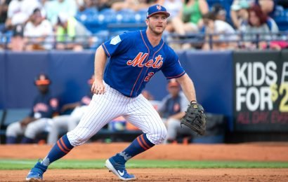 Pete Alonso's priceless reaction to Mets news he was waiting for