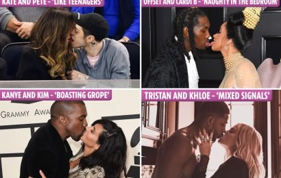 Most awkward celebrity kisses EVER, including Kate Beckinsale and Pete Davidson's tongue fest
