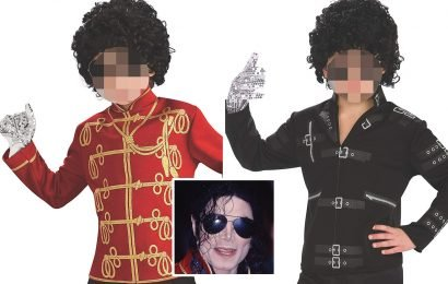 Amazon slammed by parents for selling 'chilling' Michael Jackson fancy dress outfits aimed at kids as young as seven