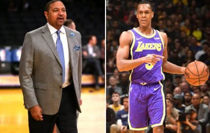 Rajon Rondo ripped by Mark Jackson for Lakers bench scene