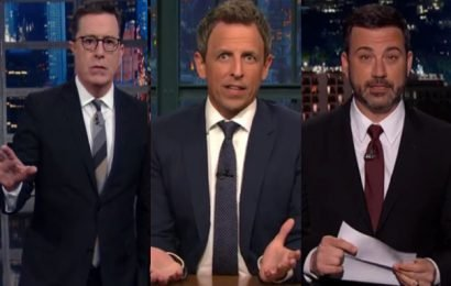 Late Night Hosts Cram For Comedy In Monologues On Elite College Bribery Bust