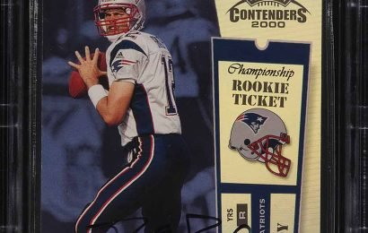 Tom Brady's Funny Reaction to His Trading Card Selling for $400k: 'I'm Cleaning Out My Basement!'