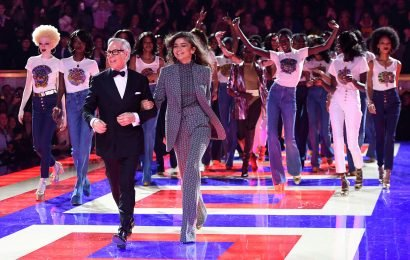 Zendaya debuts first Tommy Hilfiger collection with all-black cast of models
