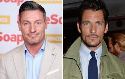 Dean Gaffney says he's constantly mistaken for Scottish hunk David Gandy