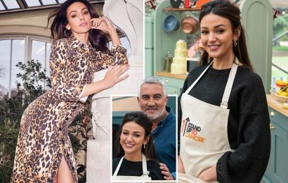 Michelle Keegan wows Stand Up To Cancer's Celebrity Bake Off special judge Paul Hollywood – despite NEVER baking before