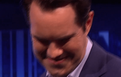 Jimmy Carr busts dance moves with music group NSG in hilarious clip from tonight's Big Narstie Show