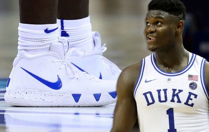 The global search for Zion Williamson's perfect sneaker paid off