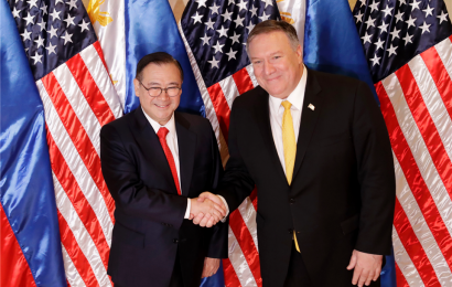 Pompeo: US to make sure China can't blockade South China Sea