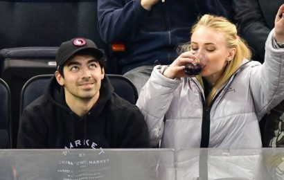 Give her the Iron Throne! Sophie Turner pulls boss move on Jumbotron