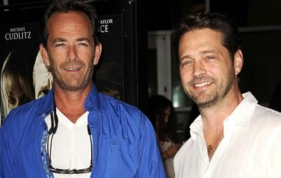 Jason Priestley is 'in so much pain' after losing dear friend Luke Perry