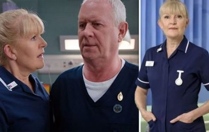 Casualty spoilers: 'She needs support' Duffy and Charlie reunite over dementia diagnosis?